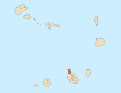 Location of Tarrafal
