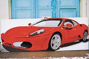 Tatjana Doll - Tatjana Doll, Ferrari F430, 2005