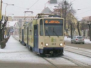Tatra T6A5 - T6A5 in Košice