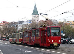 Tatra T6A5 - First revision T6A5 in Bratislava
