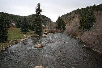 Taylor River (Colorado) - Taylor River in Almont, Colorado