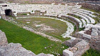 Ventimiglia - Roman theatre.
