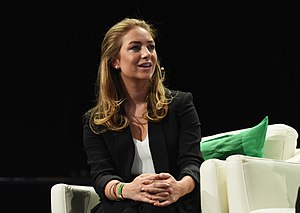 Whitney Wolfe - Image: Tech Crunch Disrupt NY 2016 Day 3 (26954840405)