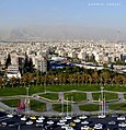 Tehran's view from the Azadi Tower, Tehran, Iran.jpg