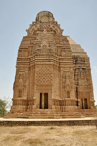 Mihira Bhoja - Image: Teli ka mandir fort Gwalior panoramio Gyanendrasinghchauha … (1)