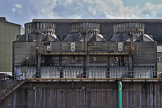 Edgar Thomson Steel Works - Image: Temperature Exchanges at Edgar Thompson Plant of US Steel