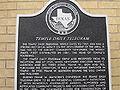 Temple Daily Telegram historical marker IMG 2373.JPG