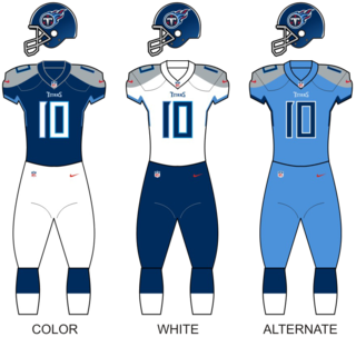 Tennessee Titans National Football League franchise in Nashville, Tennessee