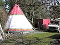 Tepee at Drumshane - geograph.org.uk - 356751.jpg