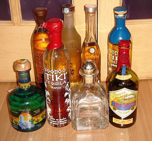 Tequilas of various styles Tequilas.JPG