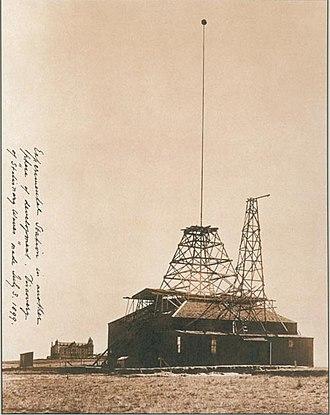 Nikola Tesla - Tesla's Colorado Springs laboratory