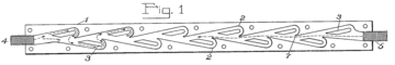 A line drawing of the valve