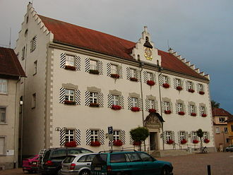 Tettnang - Town Hall (Old Castle)