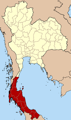 Southern Region in Thailand