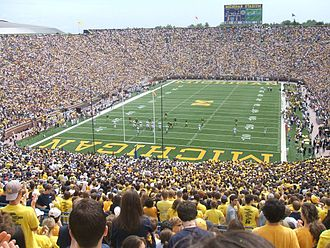 Steve Morrison (American football) - Morrison holds the total tackles record for Michigan Stadium.