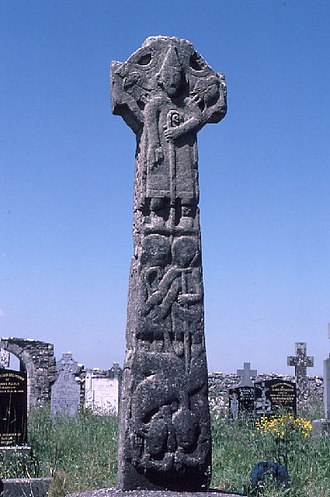 "Corcomroe (barony) - The ""Doorty"" Cross, Kilfenora"