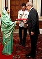 The Ambassador of Belgium to India, Mr. Jean-Marie Deboutte presented his credentials to the President, Smt. Pratibha Devisingh Patil at Rashtrapati Bhavan in New Delhi on September 26, 2007.jpg