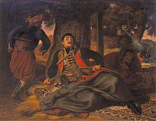 Naum Krnar Greek soldier