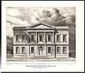 The Branch Bank of the United States, Wall Street, New York, Erected in 1825 (from Views of the Public Buildings in the City of New York Correctly Drawn on Stone by A. J. Davis, 1827) MET 49E 071R4.jpg