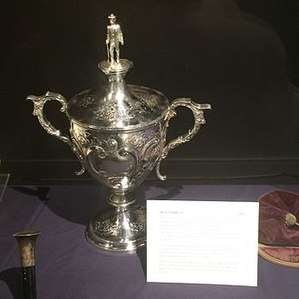 Bute Shinty Club - The Buteman Cup - Shinty Trophy, played for by teams in the Cowal and Bute area