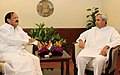 The Chief Minister of Odisha, Shri Naveen Patnaik meeting the Union Minister for Urban Development, Housing and Urban Poverty Alleviation and Parliamentary Affairs, Shri M. Venkaiah Naidu, in New Delhi on June 03, 2014.jpg