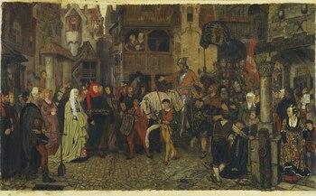Sten Stures the Elder's entry into Stockholm