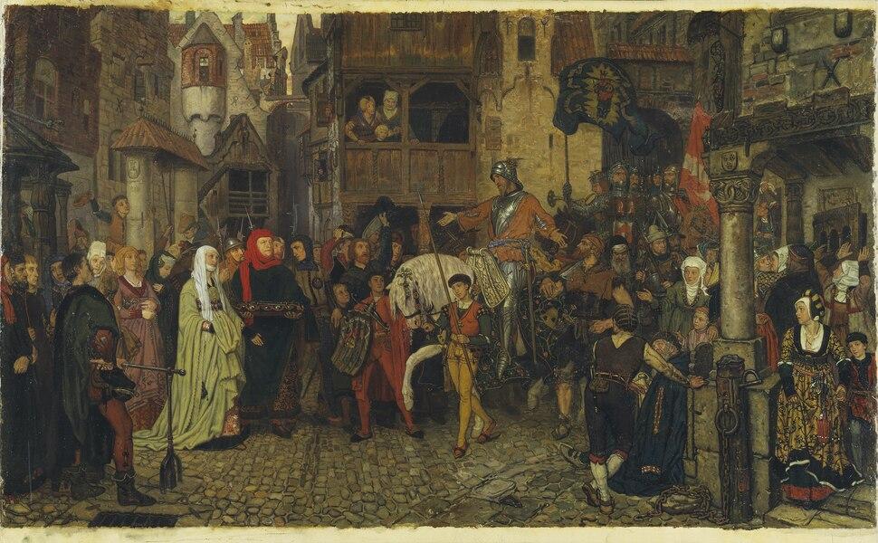 The Entry of Sten Sture the Elder into Stockholm (Georg von Rosen) - Nationalmuseum - 19214