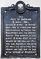 The Fall of Bataan historical marker.jpg