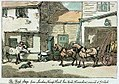 The First Stage from London ' Kings Head Inn' Yard Hounslow, arrived at 7 o'clock (caricature) RMG PW4930.jpg