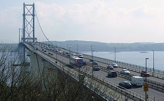 North Queensferry - Forth Road Bridge, North Queensferry