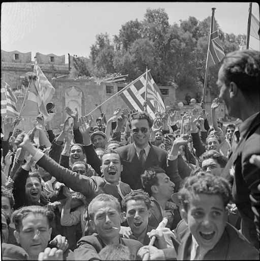 The Liberation of Rhodes, 1945 E30948