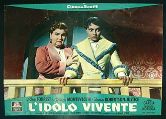 Liliane Montevecchi - Montevecchi along with Sara García in The Living Idol (1957)