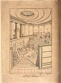 The London Institution, Moorfields; the interior of the lect Wellcome V0013227.jpg