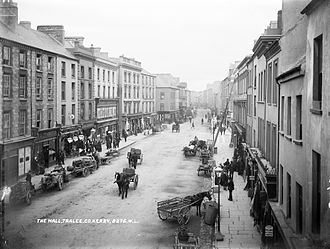 Tralee - The Mall in the early 1900s