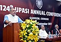 The Minister of State for Micro, Small & Medium Enterprises (IC), Shri Giriraj Singh addressing the 124th UPASI Annual conference, in Coonoor, Nilgris district, Tamil Nadu.jpg