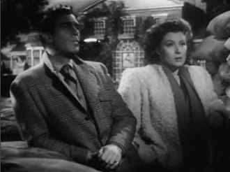 Greer Garson - Garson and co-star Walter Pidgeon in Mrs. Miniver (1942)