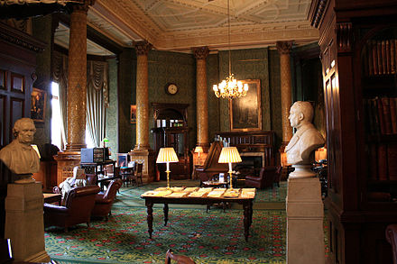 The interior The National Liberal Club interior (4843463497).jpg