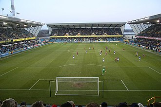 The Den - View from the north stand in 2009
