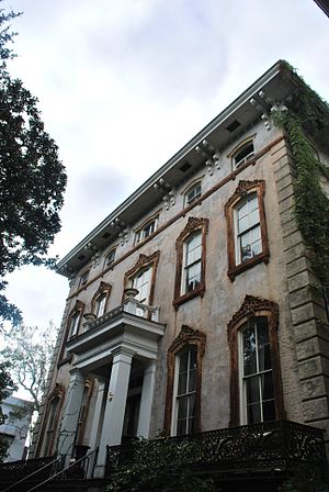 William J. Hardee - The Noble Hardee Mansion, 1860-1869, 3 West Gordon Street, Savannah
