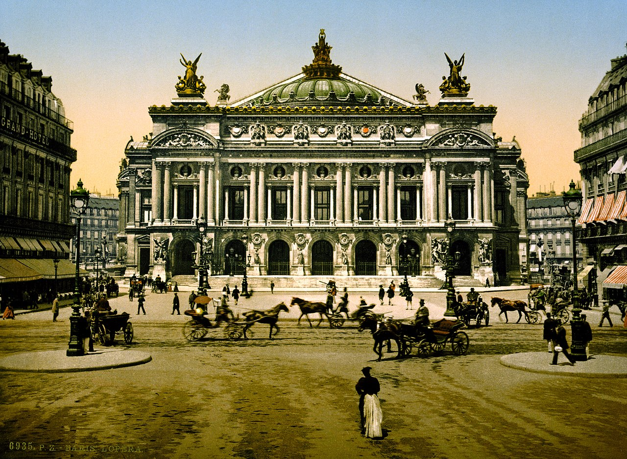 fichier the opera house paris france ca 1890. Black Bedroom Furniture Sets. Home Design Ideas