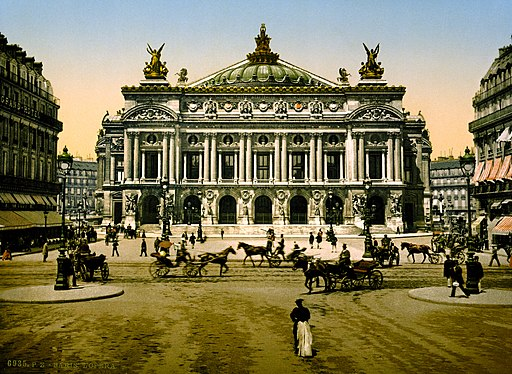 The Opera House, Paris, France ca. 1890-1900