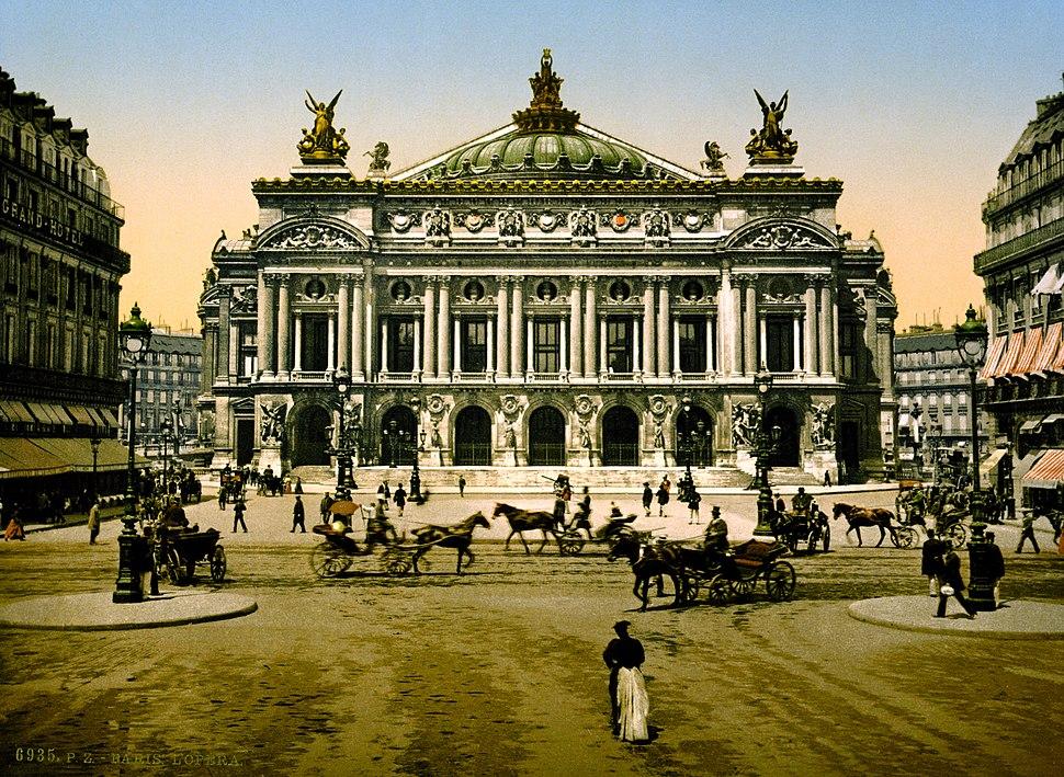The Opera House, Paris, France ca. 1890-1900