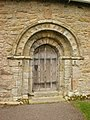 The Parish Church of St Helens, Overton, Doorway - geograph.org.uk - 1239213.jpg