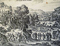The Phillip Medhurst Picture Torah 170. Dinah and Shechem. Genesis cap 34 v 1. Borcht.jpg