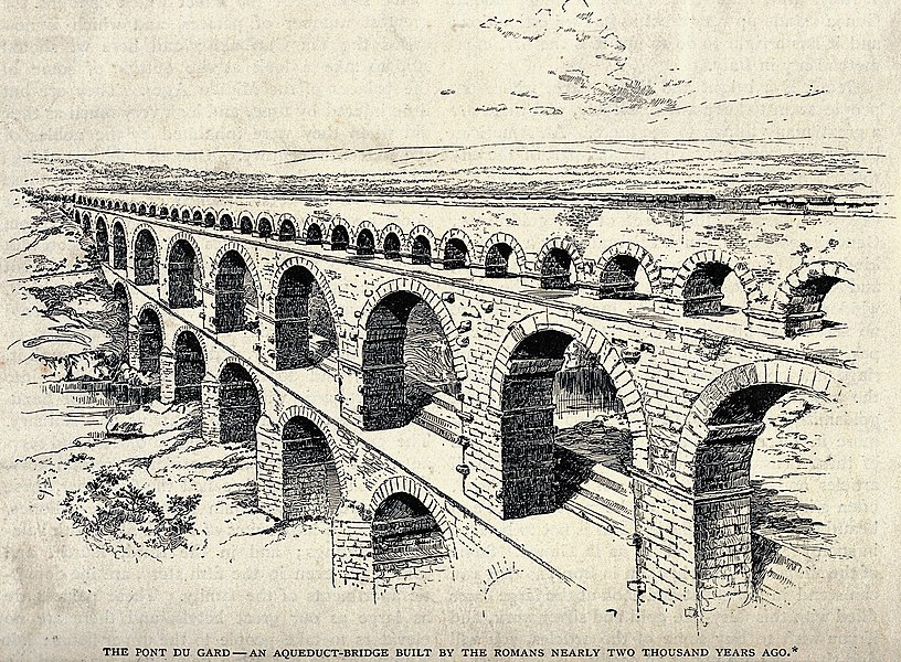 roman aqueduct - image 5