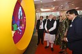 The Prime Minister, Shri Narendra Modi and the Advisor to the President of United States, Ms. Ivanka Trump visiting the Virtual Exhibition, at the Global Entrepreneurship Summit-2017, in Hyderabad on November 28, 2017.jpg