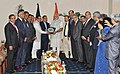 The Prime Minister, Shri Narendra Modi meeting the presidents of leading Chambers of Commerce and Industry in Bangladesh, in Dhaka on June 07, 2015.jpg