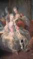 The Princess of Lamballe and Mademoiselle de Penthièvre by Jean Baptiste Charpentier.png