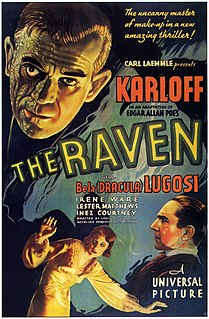 <i>The Raven</i> (1935 film) 1935 film by Lew Landers