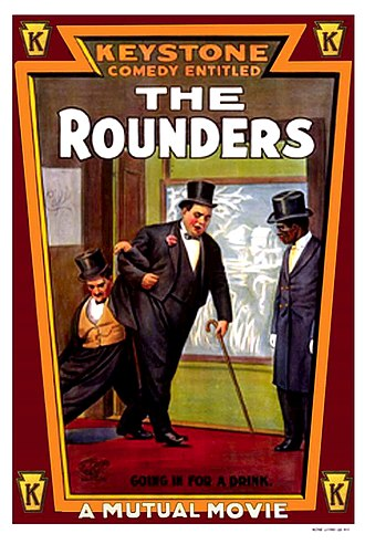 The Rounders (1914 film) - Theatrical poster to The Rounders